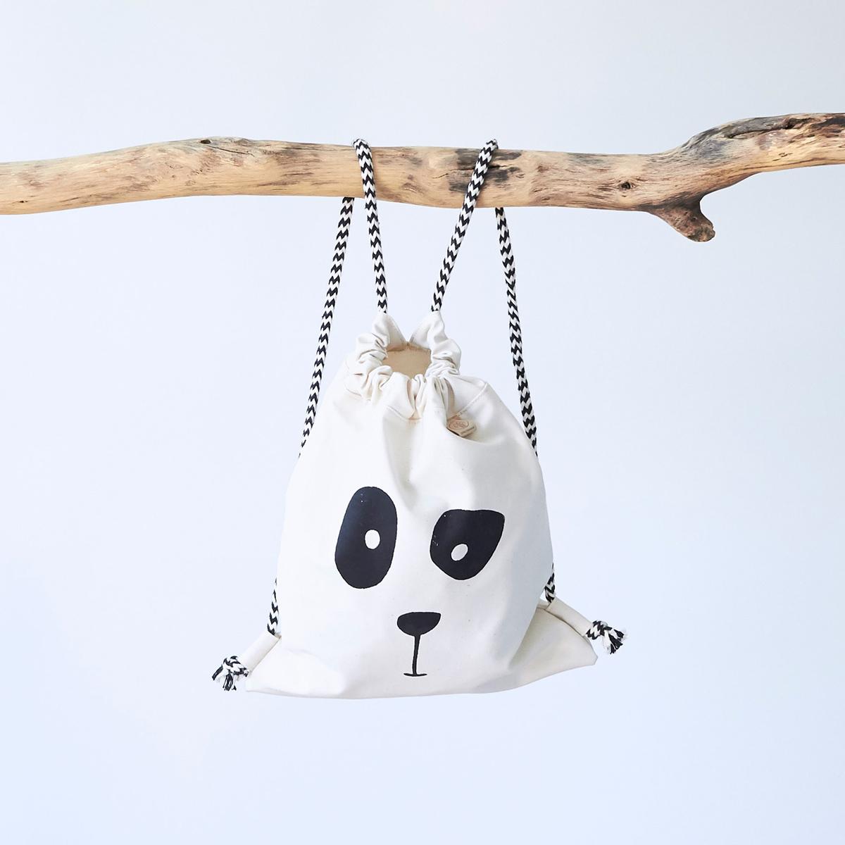 Wunschbrunnen Rucksack Panda
